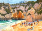 European scenes and coastal landscape and seascape oil paintings by Flint Reed